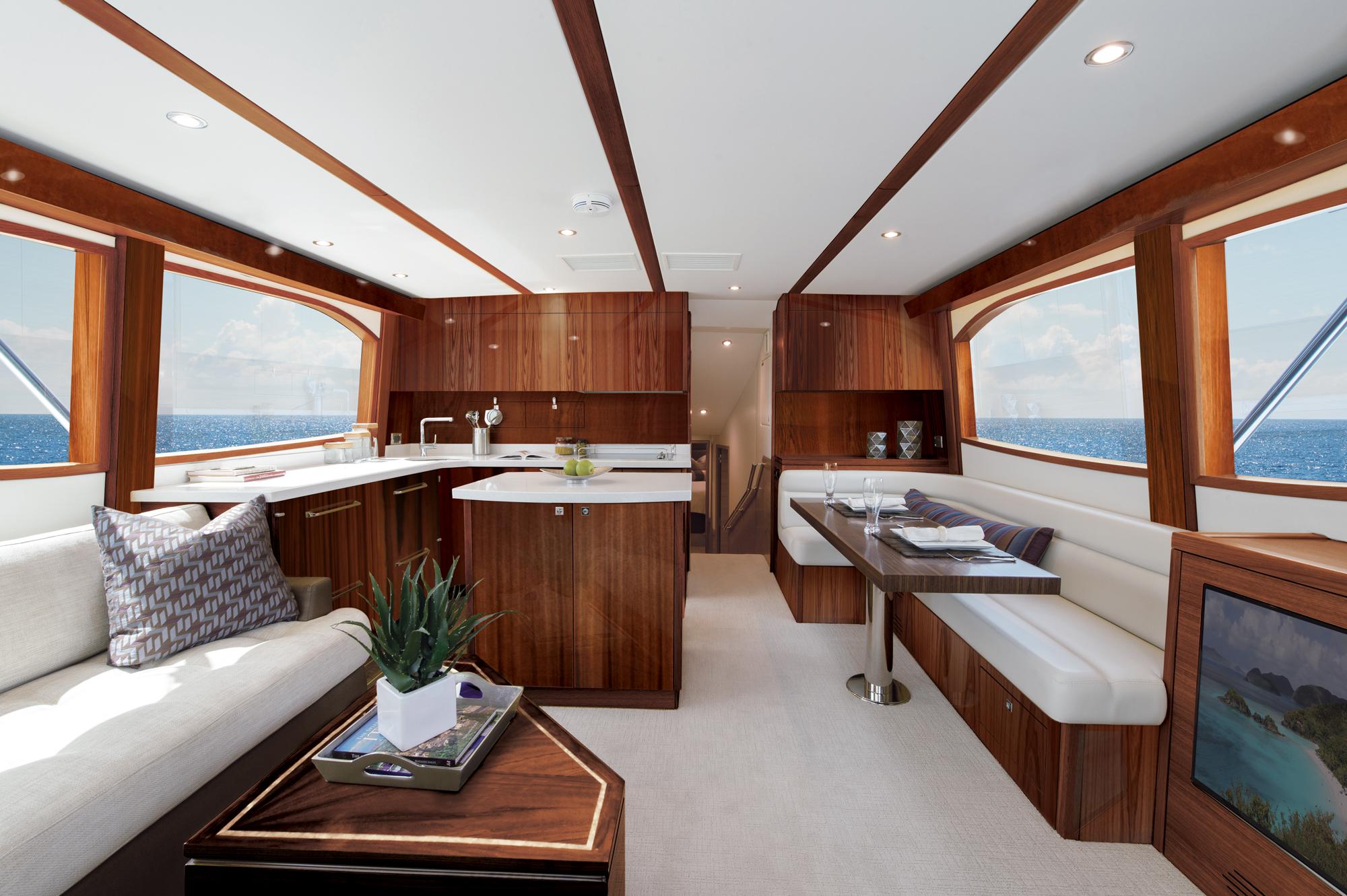 GALLERY. Hatteras GT 54 sport fishing yacht