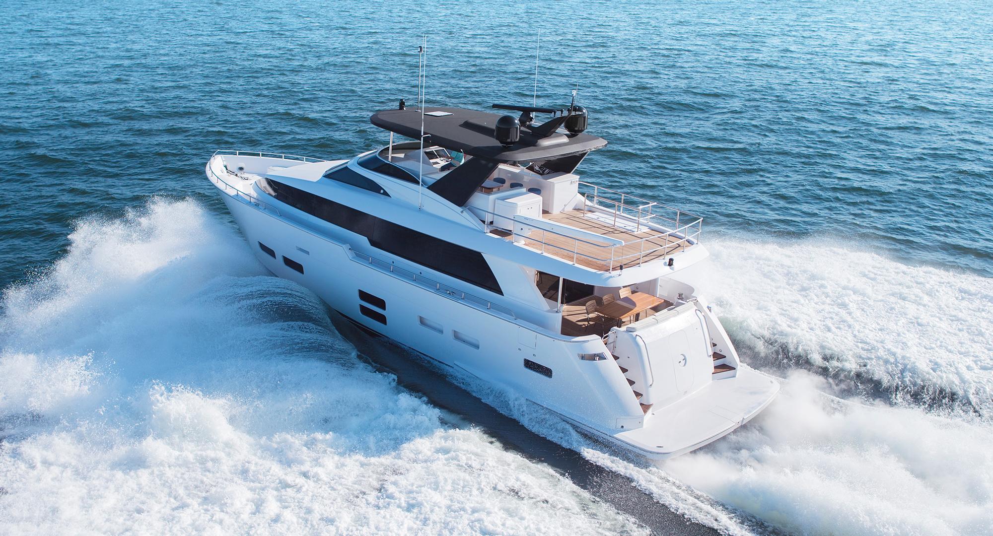 M75 Panacera   Hatteras Yachts