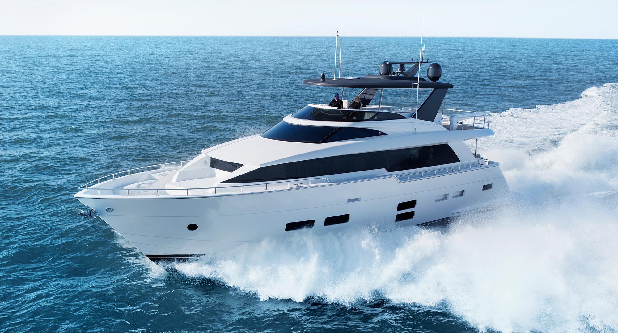 Hatteras yachts m75 panacera for Hatteras 70 motor yacht